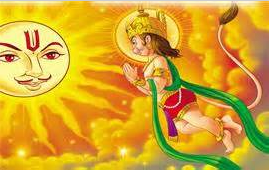 Hanuman got his spiritual illumination from the source of illumination itself.